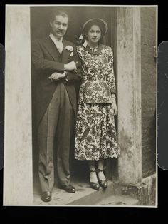 Wedding Dress suit - Elspeth Champcommunal for Worth, London, 1948.