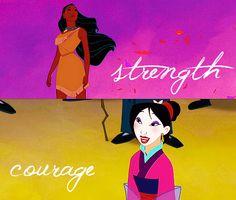 Pocahontas and Mulan-2 of my favorites