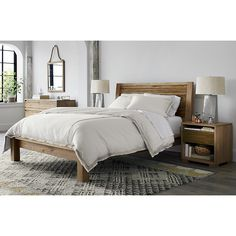 Love these Bed Linens from Crate and Barrel