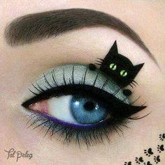 Eye Makeup Eyeshadow: Cat #Eyes.