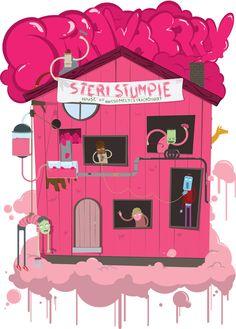 Sterri Stumpie T-shirt Illustration by Dylan Wyndham Jones, via Behance Behance, Illustrations, Random, T Shirt, Fictional Characters, Art, Supreme T Shirt, Art Background, Tee