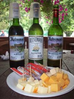 Heineman's Winery ~ Love this winery at Put-in-Bay, Ohio. Pink Catawba is a great one (and Heineman's #1 seller). Heienman's celebrates its 125th BIRTHDAY in 2013.