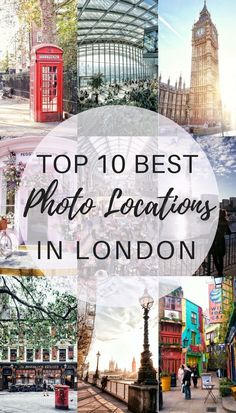 the 10 best photo spots in London, England- Iconic Photo locations you can't miss in the UK!