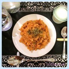 ♡Kimuchi fried rice&Milk agar jelly