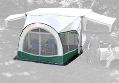 Dometic 747GRN13.000 White 13' Awning and Screen Room Dometic http://www.amazon.com/dp/B00415BLYE/ref=cm_sw_r_pi_dp_Jp7wvb0SCH4YK