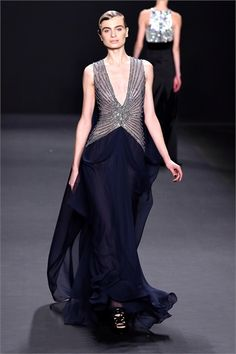 Sfilata Naeem Khan New York - Collezioni Autunno Inverno 2013-14 - Vogue
