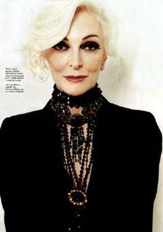 Carmen Dell - oldest professional model in the world / 80 years... amazing!