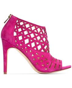 INC International Concepts Rammee sandals —these hot pink stunners give your look a vibrant dose of va va voom