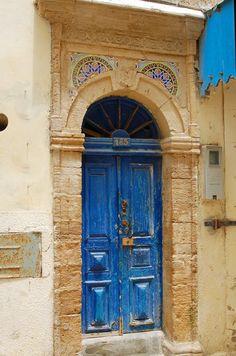 Africa | Blue door 185, Morocco |  ©Luc Viatour