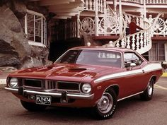Plymouth Cuda   Muscle Car   Amazing Classic Cars