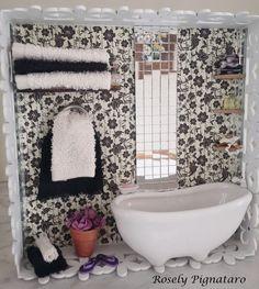 Rosely Pignataro: Quadros em miniaturas, miniaturas lavabos,miniaturas consultórios, miniaturas lanchonetes,miniaturas closets,miniatura lavanderia...Vendas Rosely Pignataro