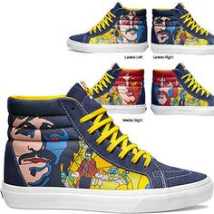 vans era yellow submarine sea of monster
