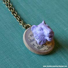iLoveToCreate Blog: Plastic Animal Necklaces DIY