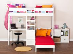Cat Pet my place: More ψηλό κρεβάτι, κουκέτα & σοφίτα
