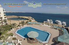 In July 2003, SUNRISE Resorts & Cruises has been founded by Hossam Gouda El Shaer, businessman with a long touristic experience in Egypt. During the years SUNRISE Resorts & Cruises developed to be one of the leading hotel cooperation in Egypt. The target is to create a high quality product for the fast growing tourism market in Egypt, which fulfills the international guests' requirements.