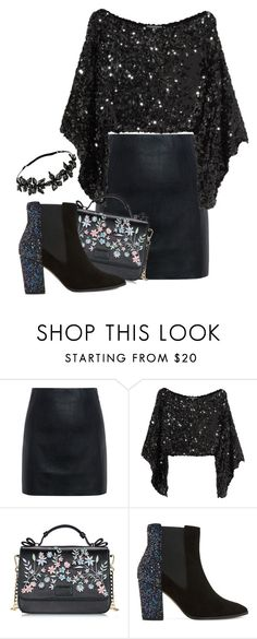"""""""Untitled #1192"""" by stephlv ❤ liked on Polyvore featuring McQ by Alexander McQueen, Sonia Rykiel, Dune and Colette Malouf"""