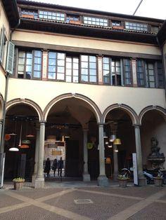 Casa degli Atellani, Milan in front of Santa Maria della Grazie (where Leonardo's Last Supper is)