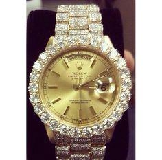 Gold Silver  Diamond Rolex Designer Watch