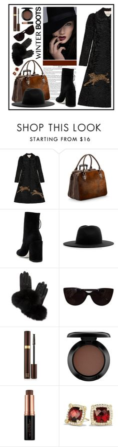 """dtyle"" by sandevapetq ❤ liked on Polyvore featuring Gucci, Aspinal of London, Off-White, Études, AGNELLE, Tiffany & Co., Tom Ford, MAC Cosmetics, Anastasia Beverly Hills and David Yurman"