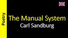 Poesia - Sanderlei Silveira: Carl Sandburg - The Manual System