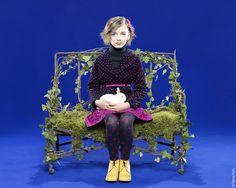 Lili Gaufrette winter 2012 children's fashion with many spot patterns