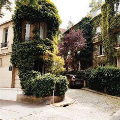 A walk through the greenary in southern paris