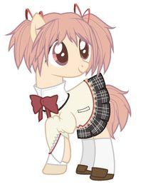 Madoka Kaname [Puella Magi Madoka Magica] My Little Pony version