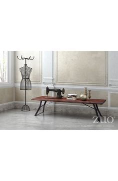 Zuo Modern Omaha Coffee Table Distressed Cherry Oak - 100504