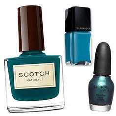 Reader's Pick: This Season's Best Nail Colors - 118 Fans Would Try...Teal from #InStyle