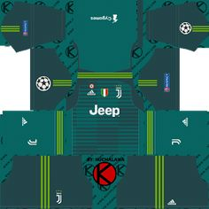 Juventus 2018 19 UCL Kit - Dream League Soccer Kits Soccer Kits 7342d0037
