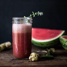 Watermelon Ginger & Mint Juice