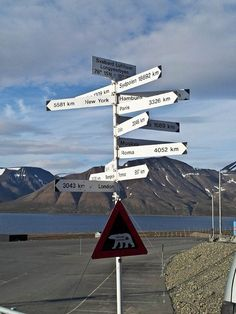 You're a long way from home... (Longyearbyen, Svalbard)