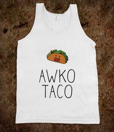 #Awko #Taco #americanapparel #tshirt #shirt #tanktop #skreened #wanelo #tumblr