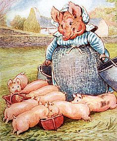 The Tale of Pigling Bland - Every one of them has been in mischief except Spot and Pigling  Bland