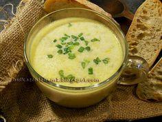 Bułka z Chlebem: Zupa serowo-porowa na rosole Cheeseburger Chowder, Food, Essen, Meals, Yemek, Eten
