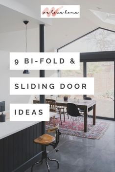 Bifold and sliding doors: 9 gorgeous design ideas We Love Home Blog Sliding Door Design, Sliding Doors, Casual Decor, Diy Ideas, Decor Ideas, Interior Design Advice, Classic Living Room, Traditional Doors, Minimal Home