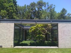 Hodgson House / Philip Johnson