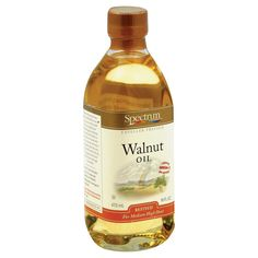Spectrum Naturals Refined Walnut Oil - Case Of 12 - 16 Fl Oz.
