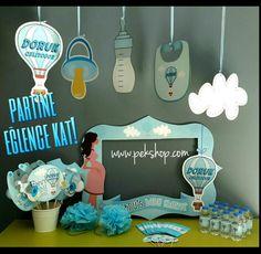Baby Shower Parti Malzemeleri www.pekshop.com