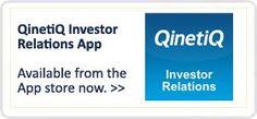 QinetiQ | world leading defence technology and security company