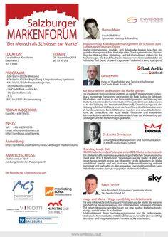 Salzburger Markenforum Bank Austria, Employer Branding, Corporate, Ideas, Things To Do, Branding, Thoughts