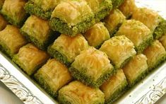 Desserts are the showcase of Turkish cuisine. Turkish cuisine is has a very wide range of desserts from puddings to sophisticated phyllo dough wo Ramadan Desserts, Greek Sweets, Greek Desserts, Turkish Recipes, Greek Recipes, Ethnic Recipes, Istanbul Food, Turkish Baklava, Turkish Cuisine