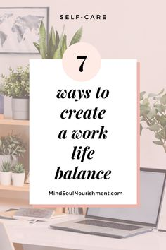 Do you feel stressed and burned out from your work? If that's the case, then you need to create a balanced life. Having a work life balance is important so you can relieve stress and have a happier life. Here, I present you with 7 ways to create a work life balance. Hopefully, you will feel inspired to create your balanced life! Positive Mindset, Positive Life, Concept Of Mental Health, Working Mom Quotes, Work Life Balance Tips, Finance Jobs, Balanced Life, Quitting Your Job, What To Read