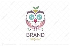 Junior Baby Owl Logo Rooster Logo, Home Accessories Stores, Glasses Logo, Plant Logos, Owl Logo, Textile Company, Bird Logos, Eagle Logo, Buy Birds
