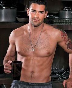 I've never seen this guy at Starbucks--must stop using the drive-through.... Jesse Metcalfe