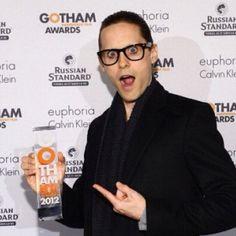 jared-leto: 22nd Annual Gotham Independent Film Awards - New York, 26th November 2012.