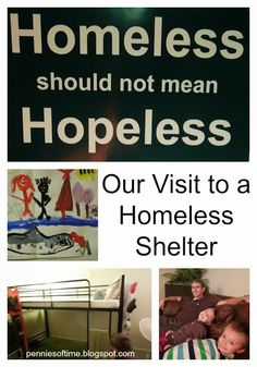 After a year of searching, I found a homeless shelter that would let us tour its facility with my kids. A great experience to help them develop greater empathy and for us all to understand what it is like to be homeless. #homeless #serveothers
