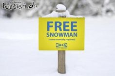 Kostenloser Schneemann
