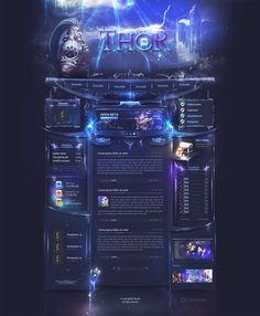 Thor Webdesign by iKyroja