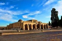 Palestine, Al-Aqsa Mosque & Dome Rock - فلسطين .. المسجد الاقصى و قبة الصخرة